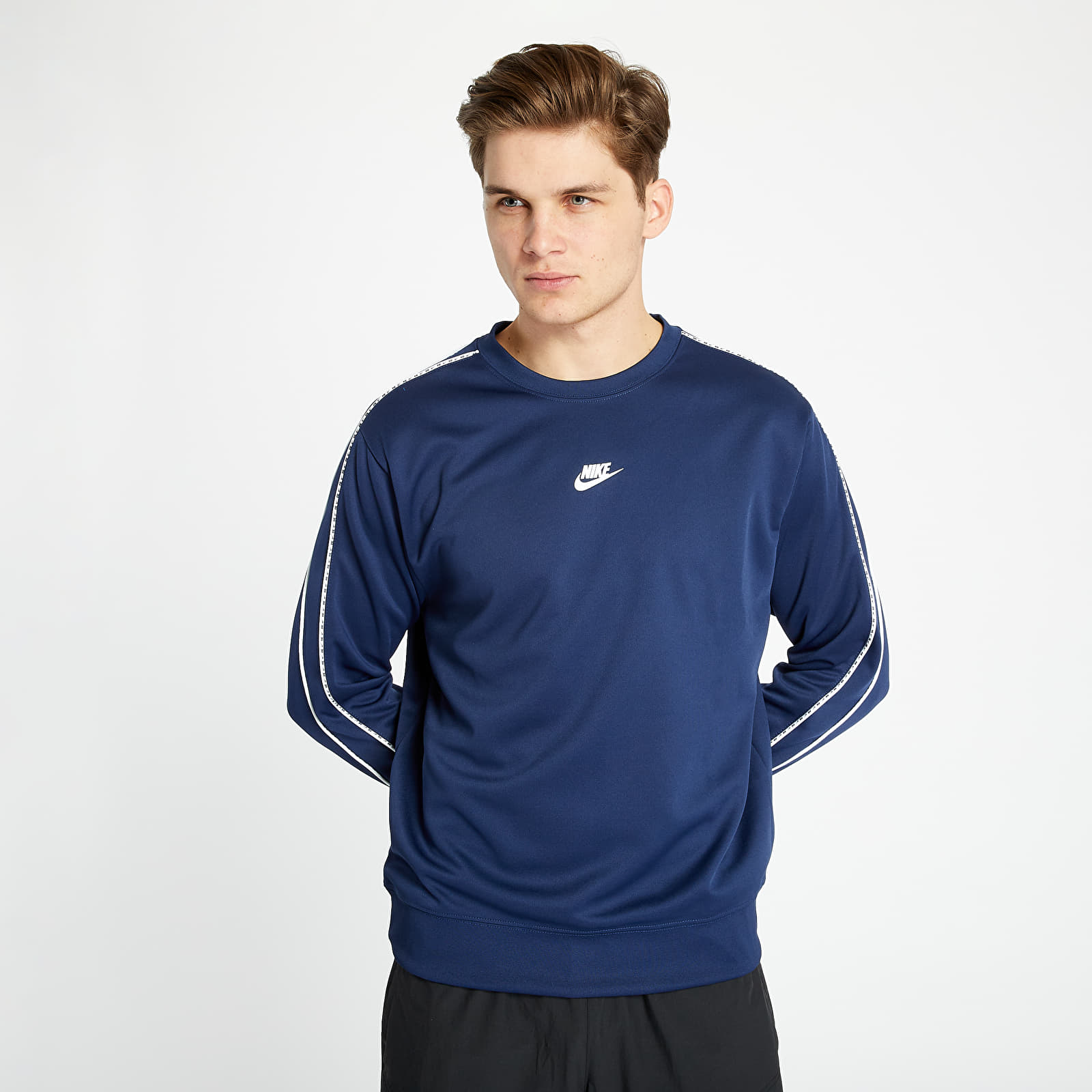 Mikiny a svetre Nike Sportswear Long Sleeve Top Midnight Navy
