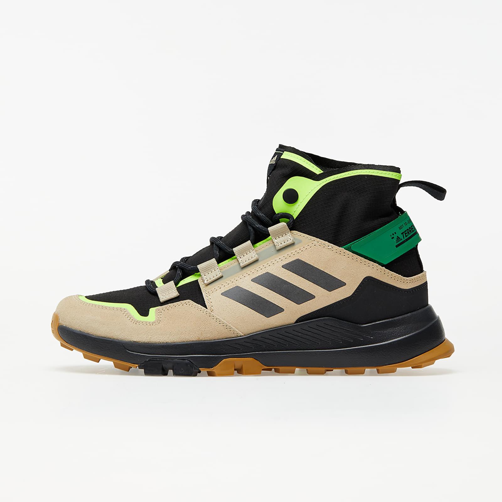 Мужская обувь adidas Terrex Hikster Mid Core Black/ Core Black/ Signature Green