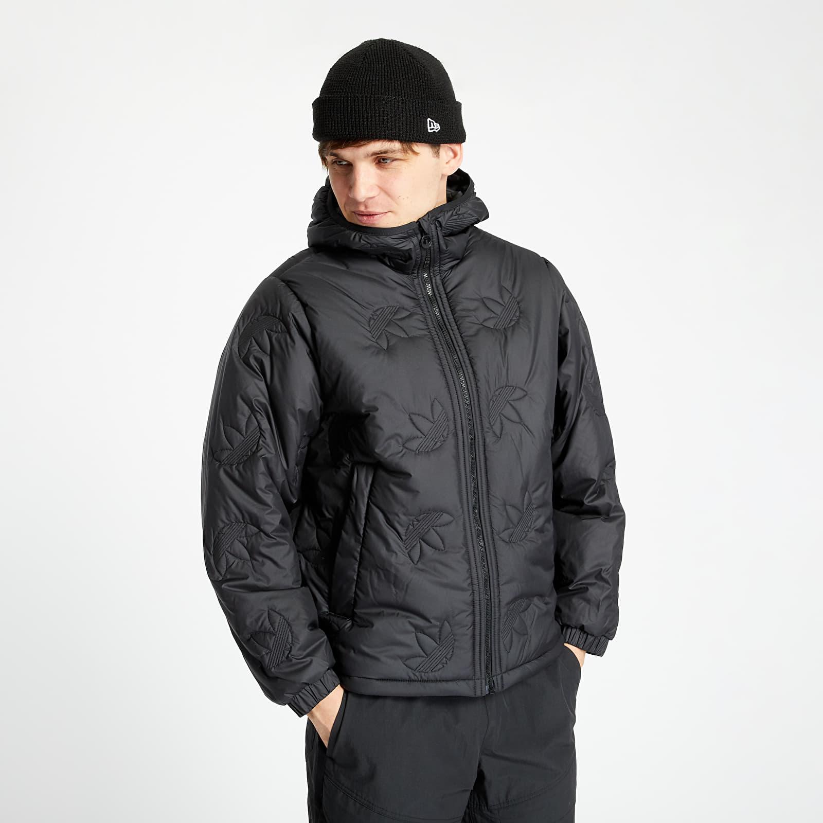 Bundy adidas Trefoil Rpt Puffer Jacket Black