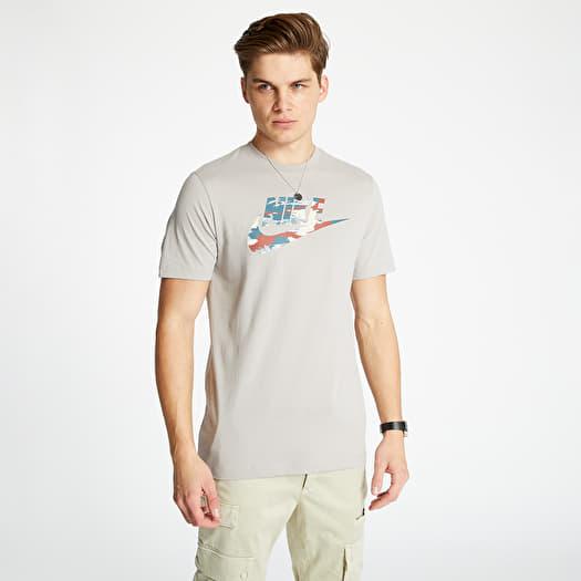 apagado revisión Suavemente  T-shirts Nike Sportswear Tee College Grey