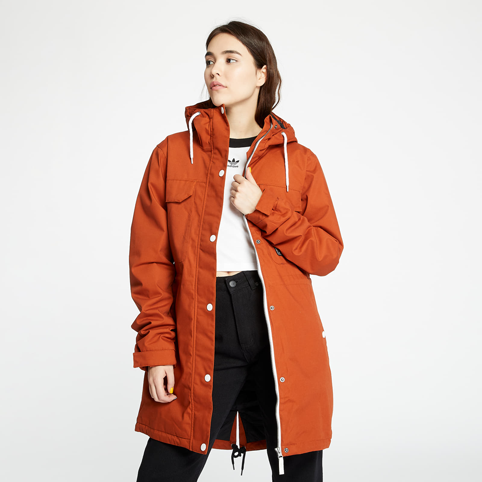 Îmbrăcăminte femei Horsefeathers Clara Jacket Leather Brown