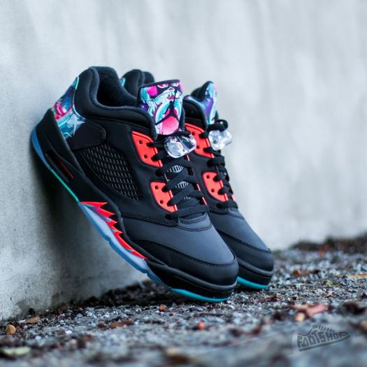 release date: 3a697 a85a8 Air Jordan 5 Retro Low Chinese New Year Black/ Black-Bright ...