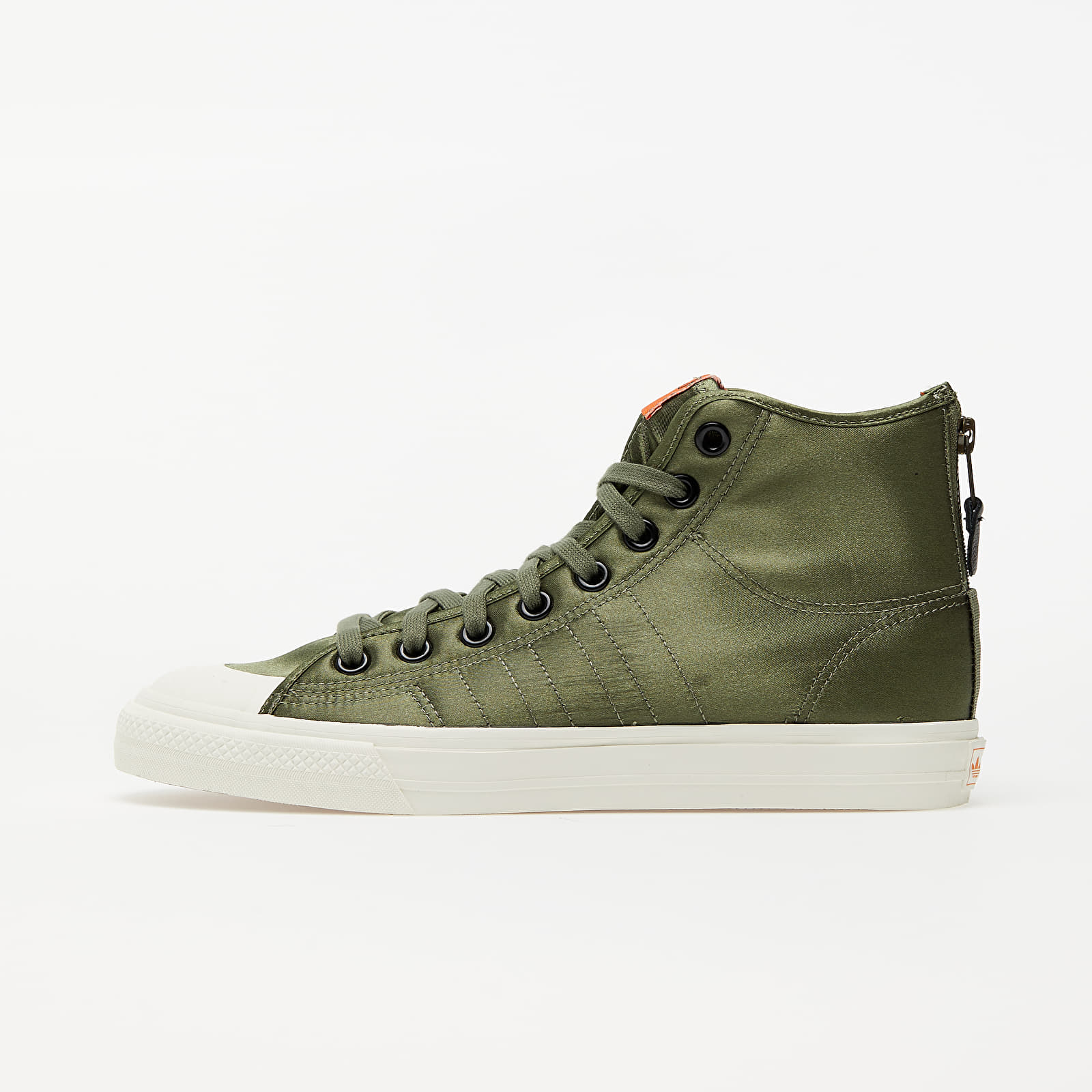 Мъжки кецове и обувки adidas Nizza Hi RF Legend Green/ Orange/ Off White