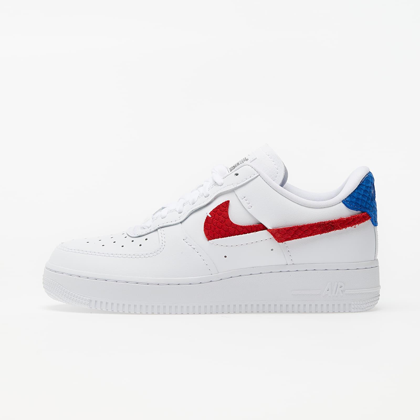 Încălțăminte și sneakerși pentru femei Nike Wmns Air Force 1 LXX White/ Game Royal-University Red