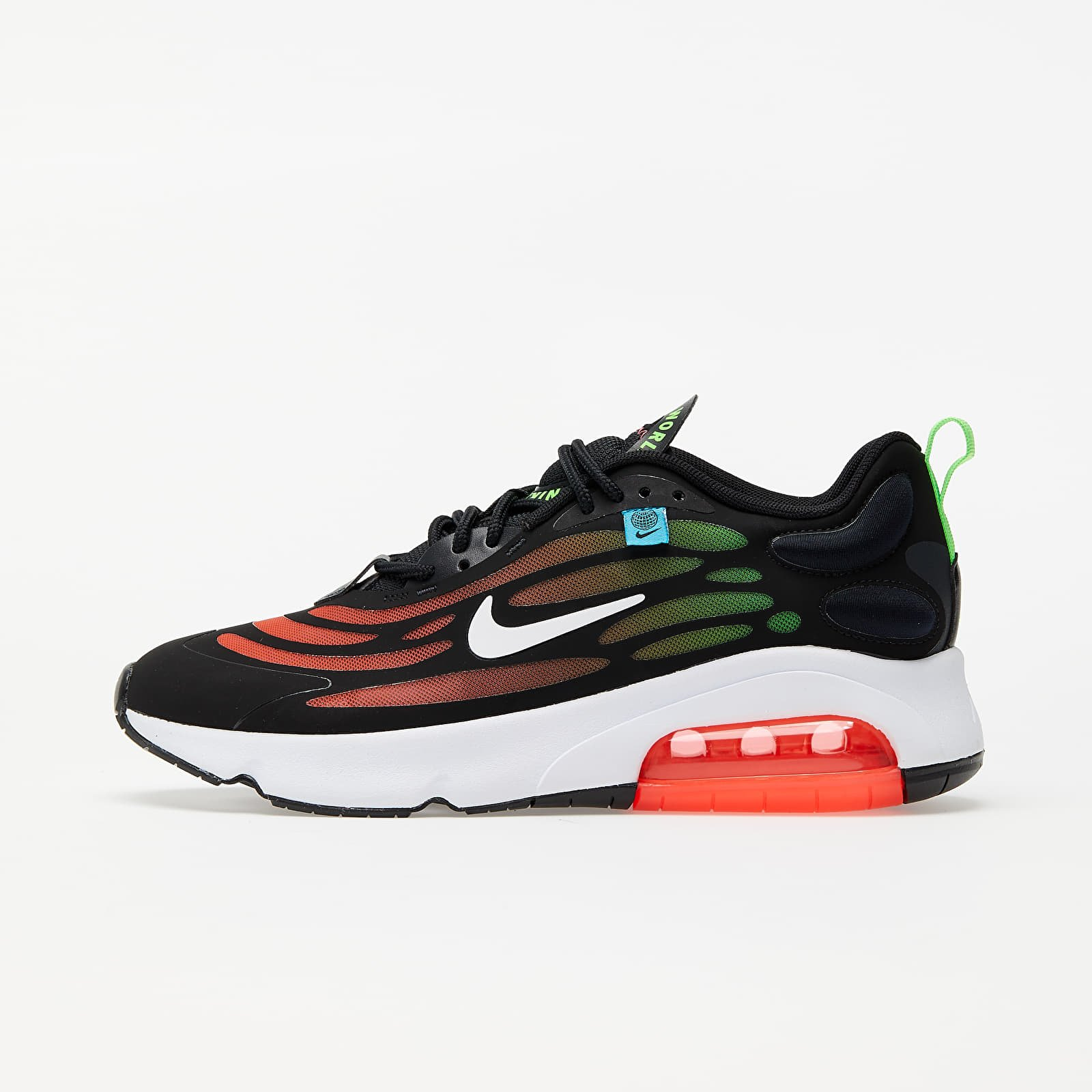 Nike Air Max Exosense SE Black/ White-Flash Crimson-Green Strike EUR 41