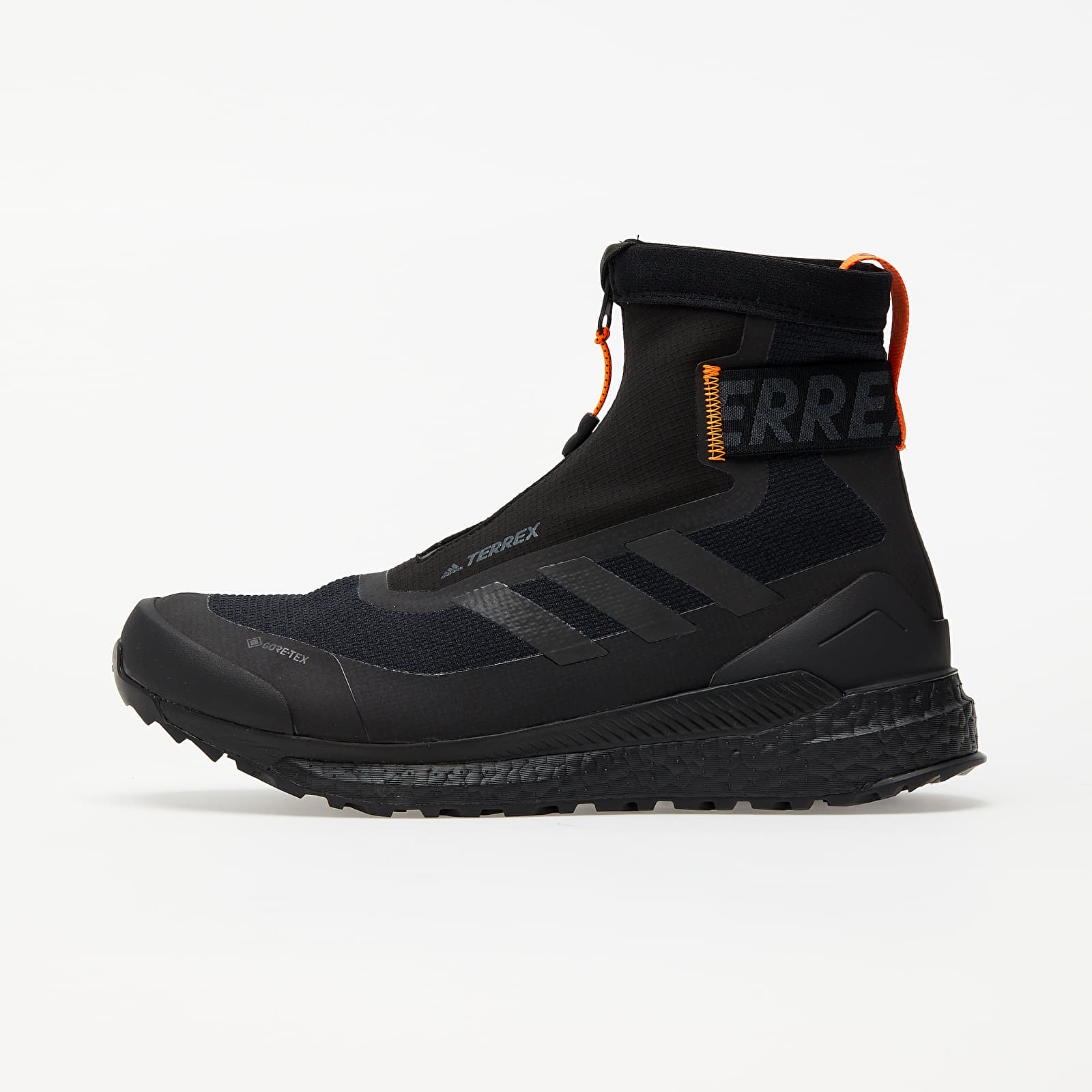 Zapatillas Hombre adidas Terrex Free Hiker COLD.RDY Core Black/ Core Black/ Orange