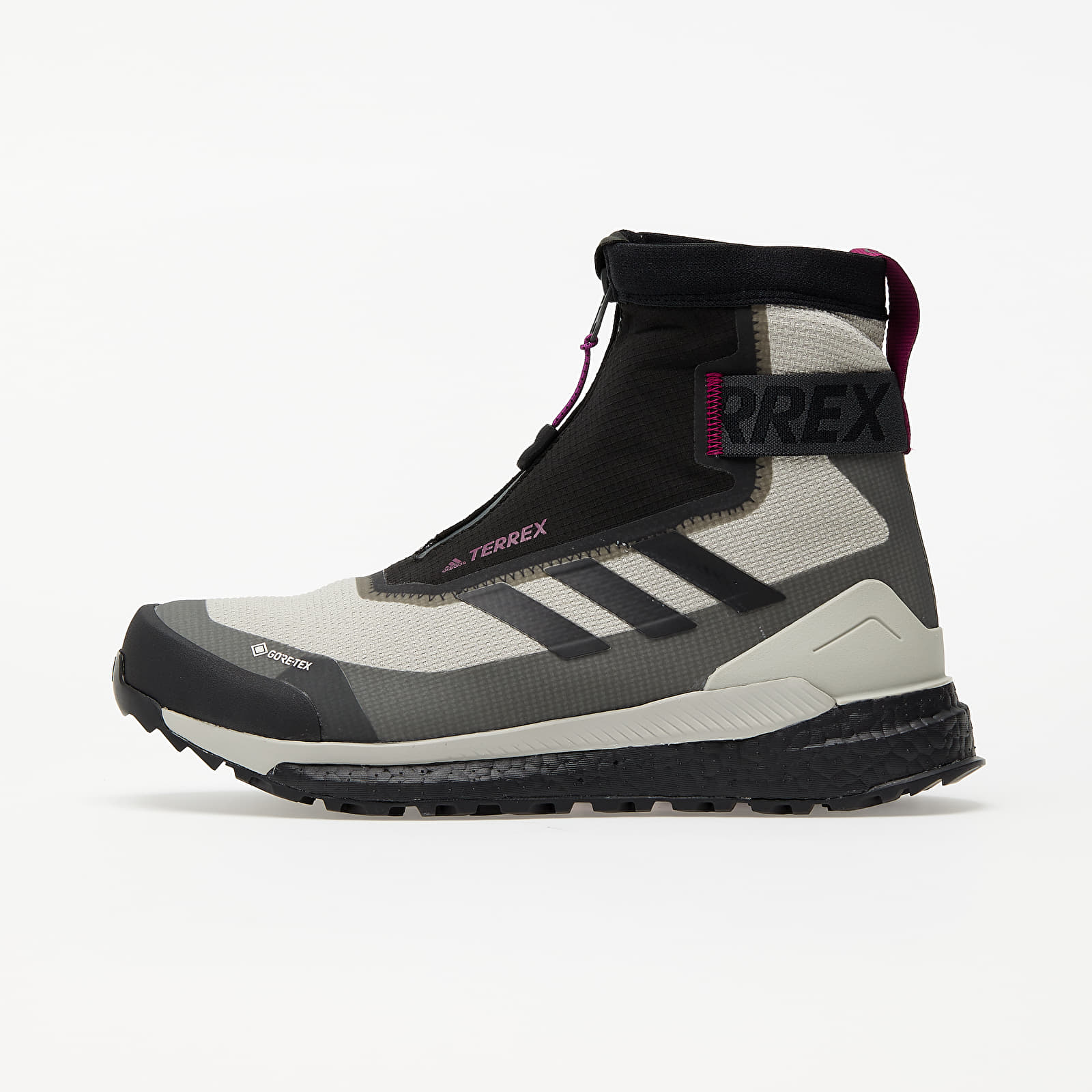 adidas Terrex Free Hiker COLD.RDY W Metalic Grey/ Core Black/ Power Ber EUR 39 1/3