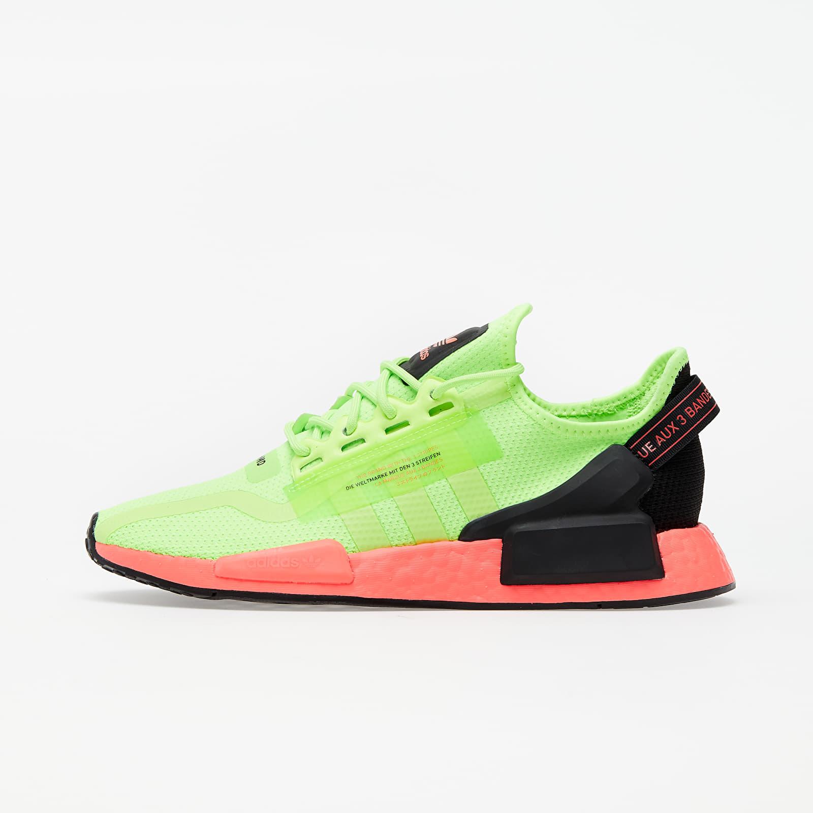 adidas NMD_R1.V2 Signature Green/ Signature Green/ Signature Pink EUR 40
