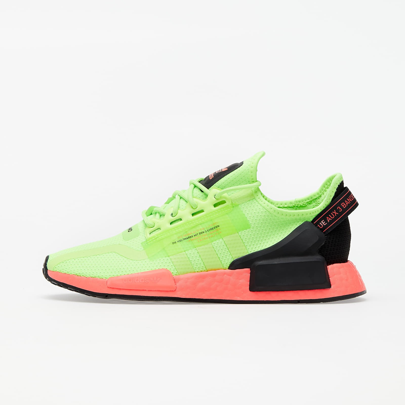 Мужская обувь adidas NMD_R1.V2 Signature Green/ Signature Green/ Signature Pink