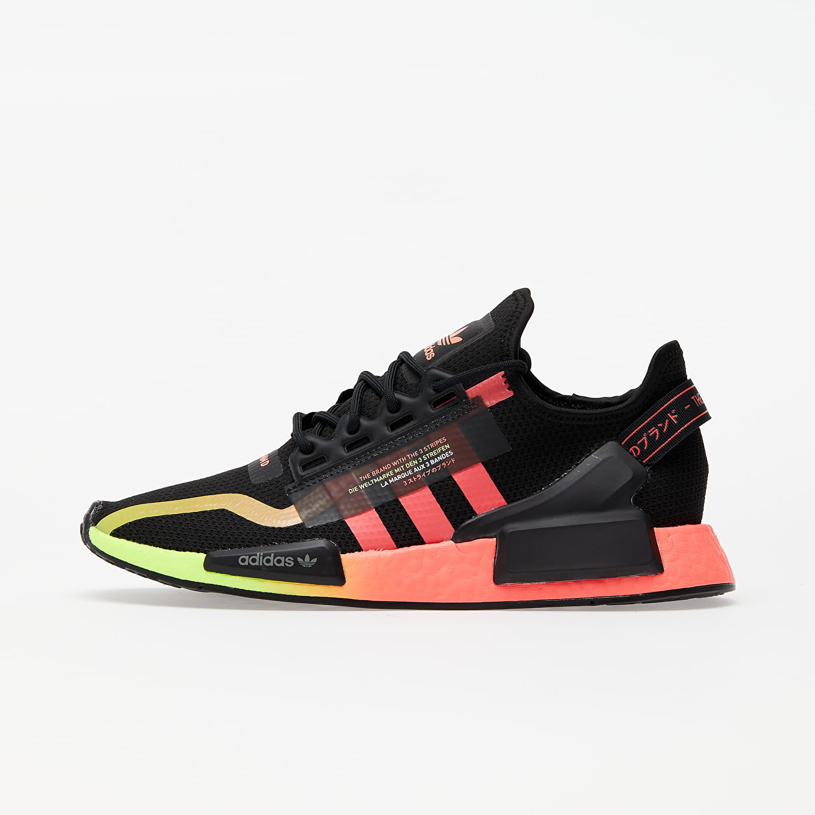 Chaussures et baskets homme adidas NMD_R1.V2 Core Black/ Signature Pink/ Signature Green