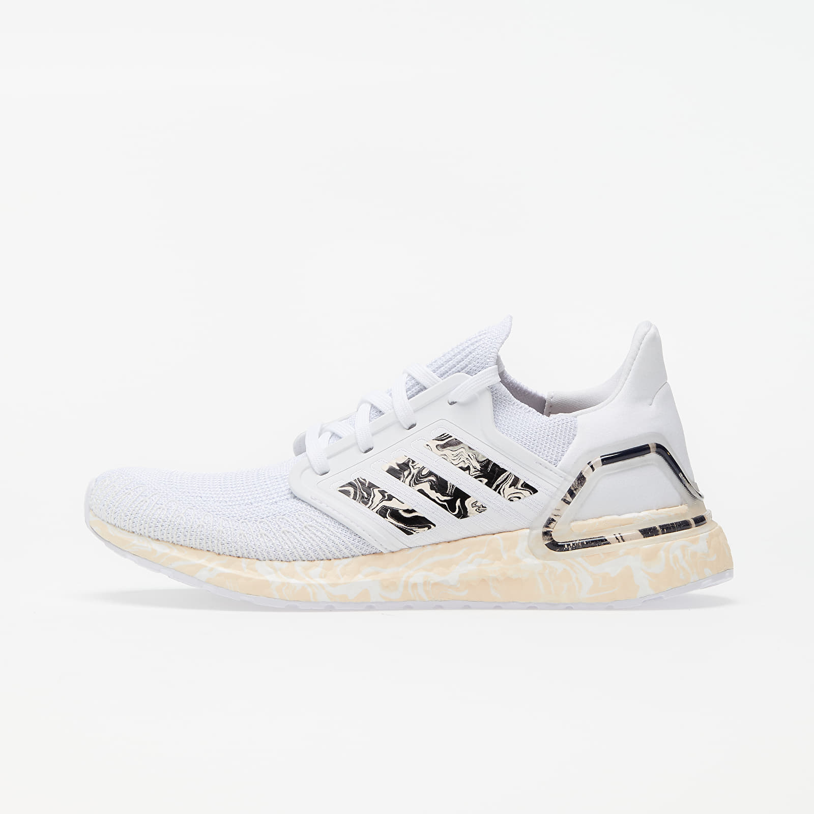Chaussures et baskets femme adidas UltraBOOST 20 W Ftw White/ Pink Tint/ Core Black
