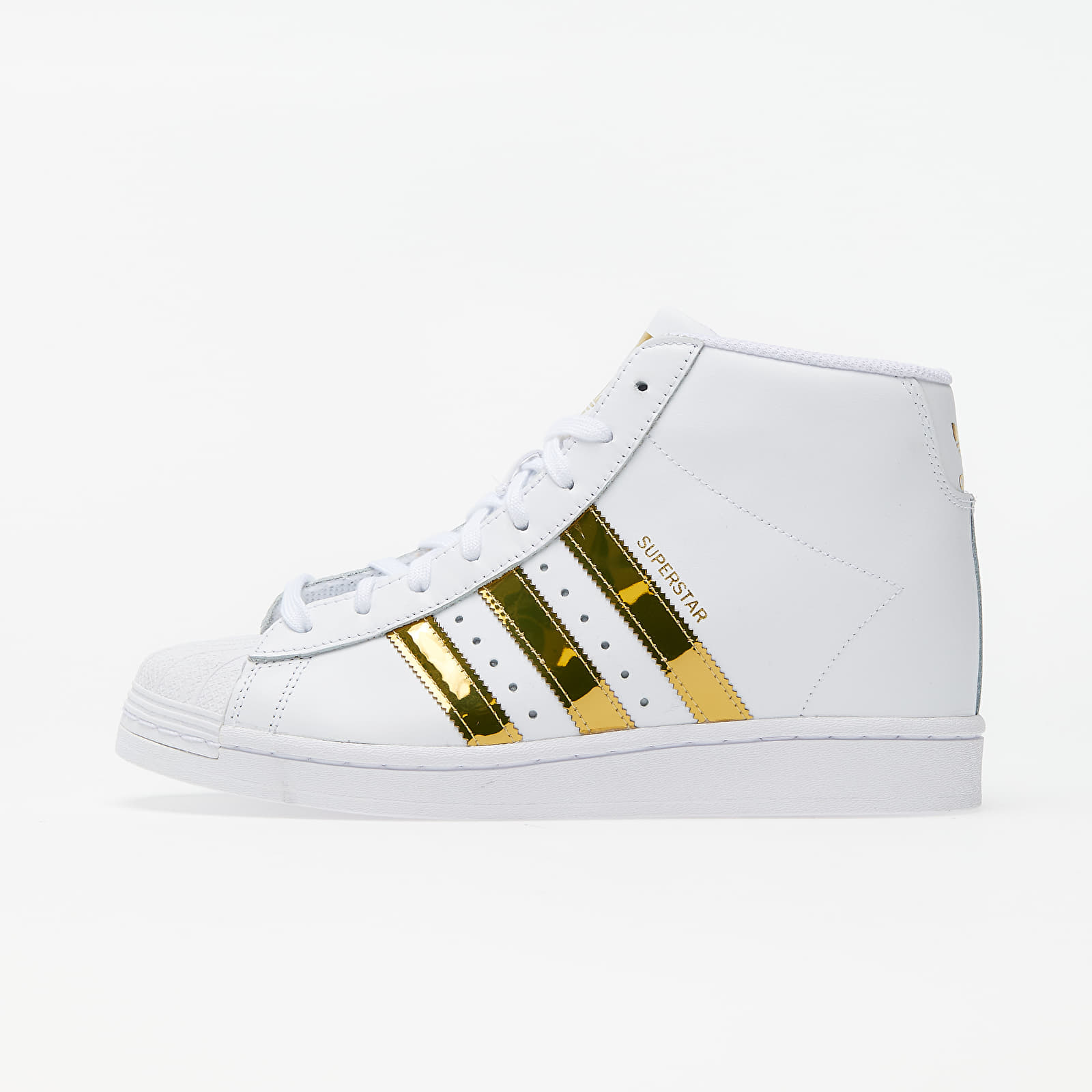Női cipők adidas Superstar Up W Ftw White/ Gold Metalic/ Core Black