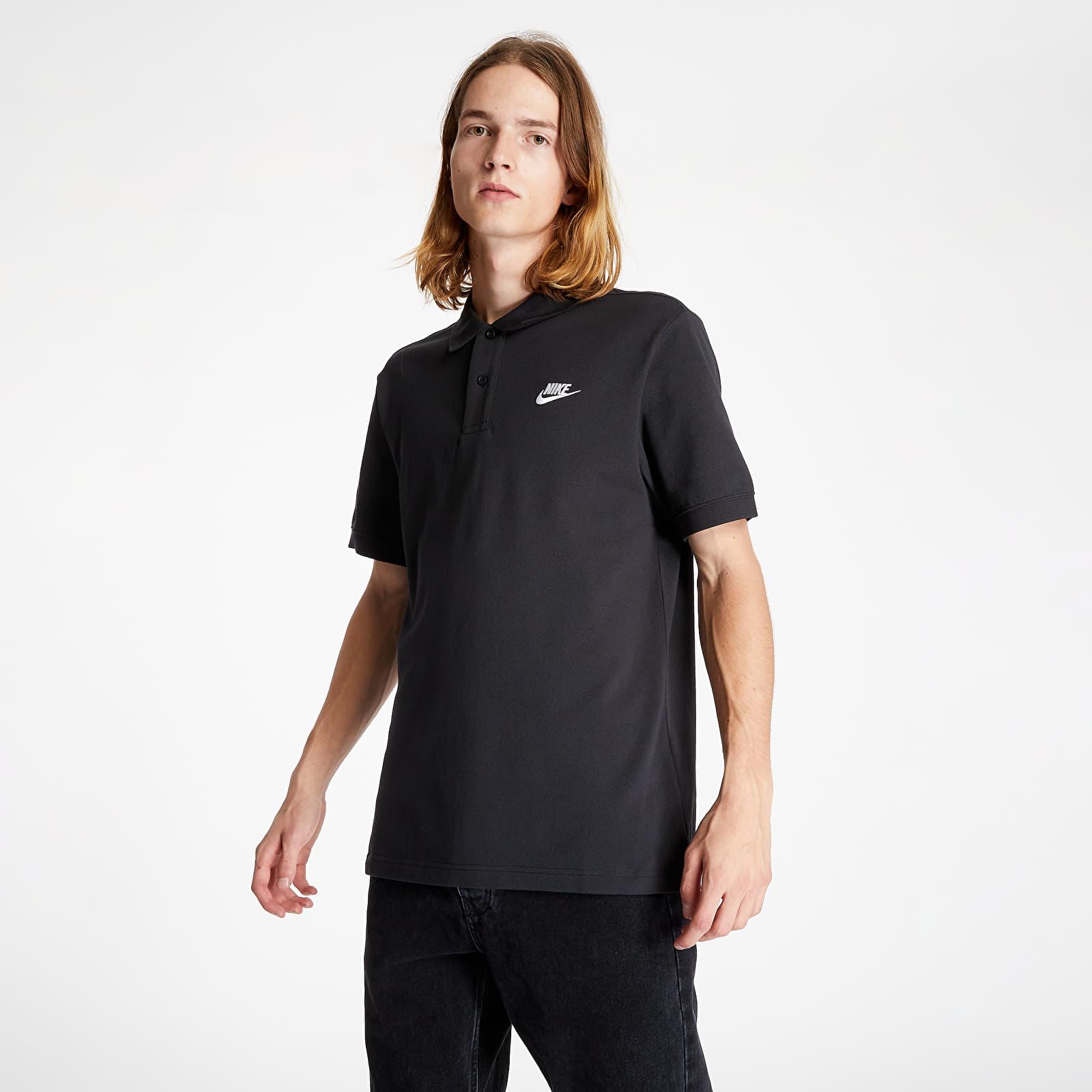 Nike Sportswear Polo Tee Black/ White S