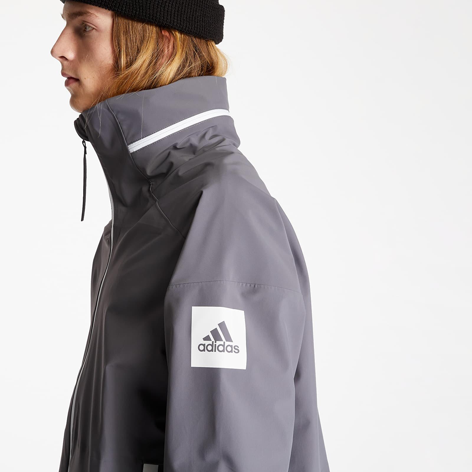Pánske oblečenie adidas Myshelter Parka Grey Five
