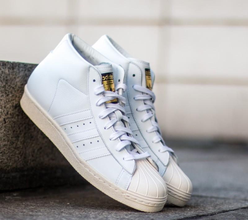 promo code 96252 78d9a adidas Pro Model Vintage Dlx Ftw White Ftw White Core White