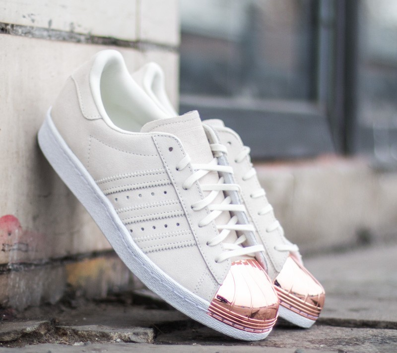 adidas superstar 80s white copper