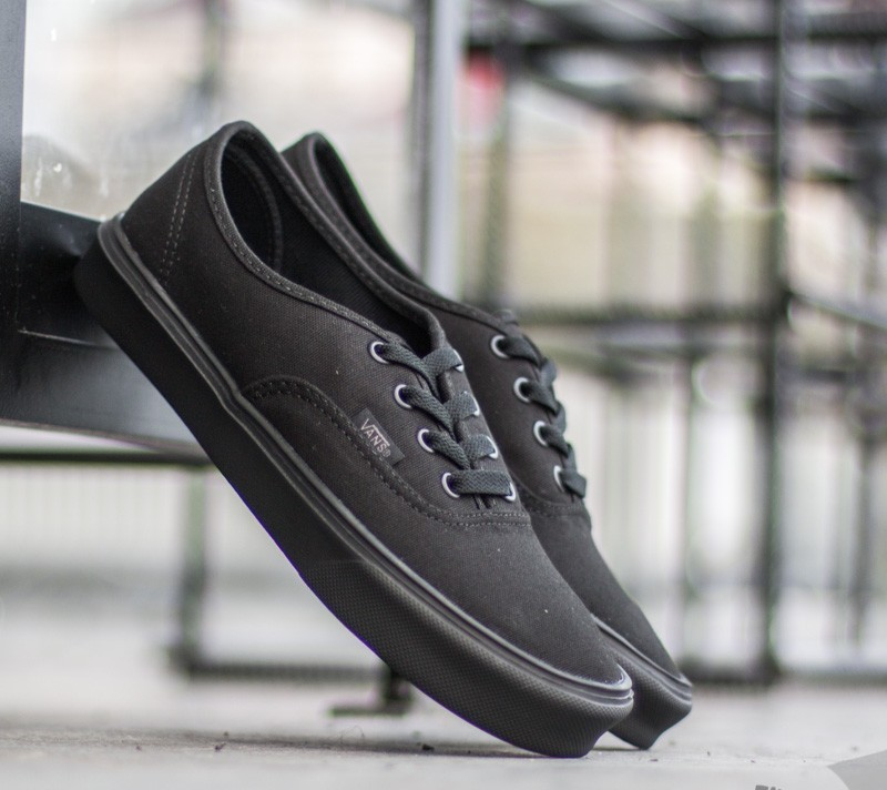 Vans Authentic Lite+ Canvas Black  Black  4ce191bd5