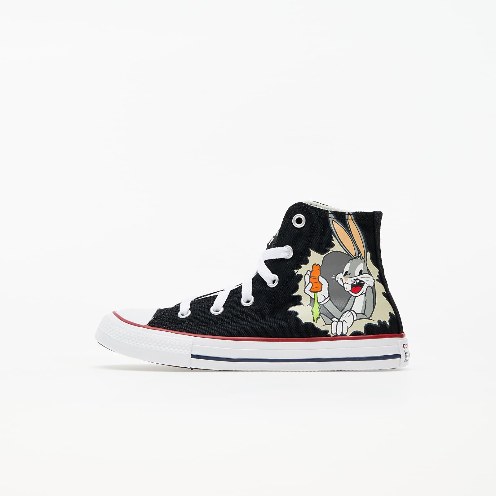 Detské topánky a tenisky Converse x Bugs Bunny Chuck Taylor All Star Hi Black/ Multi