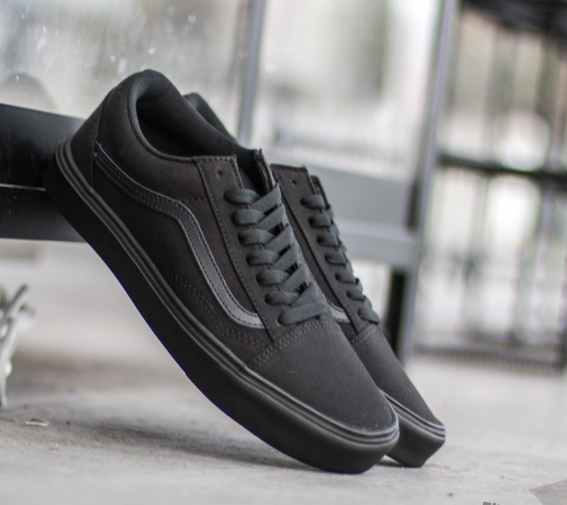 Vans Old Skool Lite+ Canvas Black  Black  24d52af32b