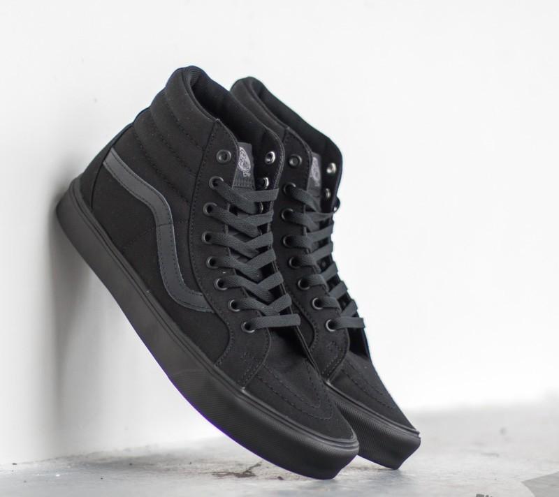 Vans Sk8-Hi Lite+ Canvas Black/ Black | Footshop