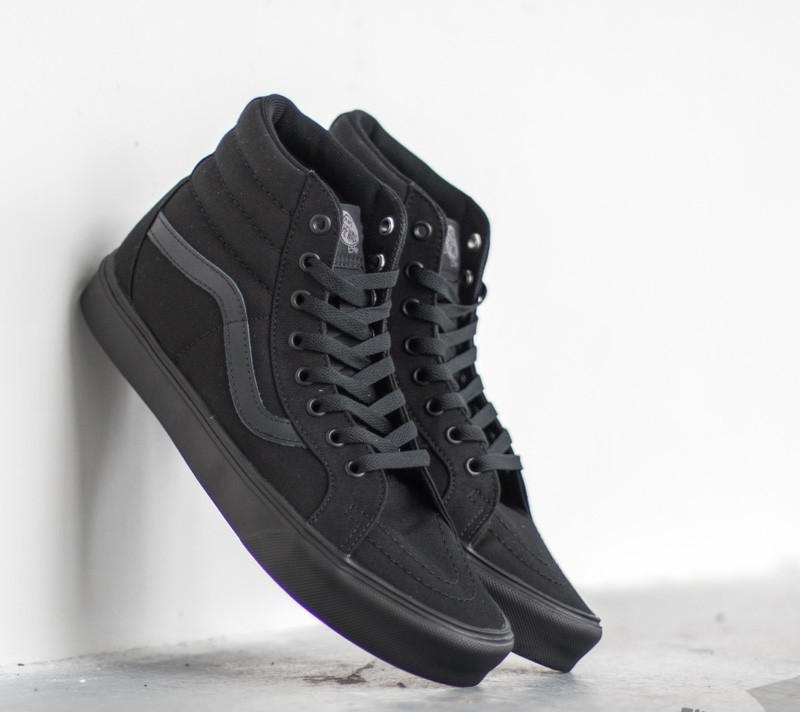 920099a828f Vans Sk8-Hi Lite+ Canvas Black  Black