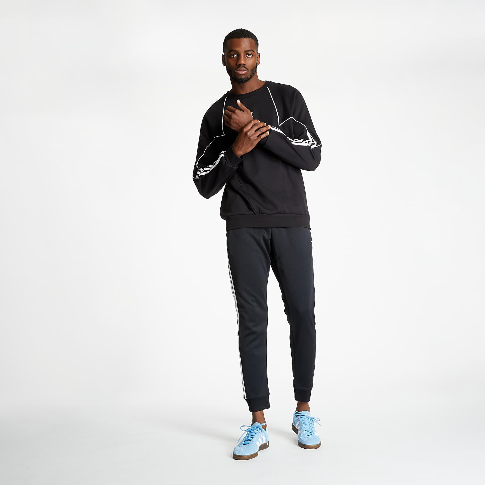 Sweatshirts adidas Big Trefoil Blocked Crewneck Black/ White