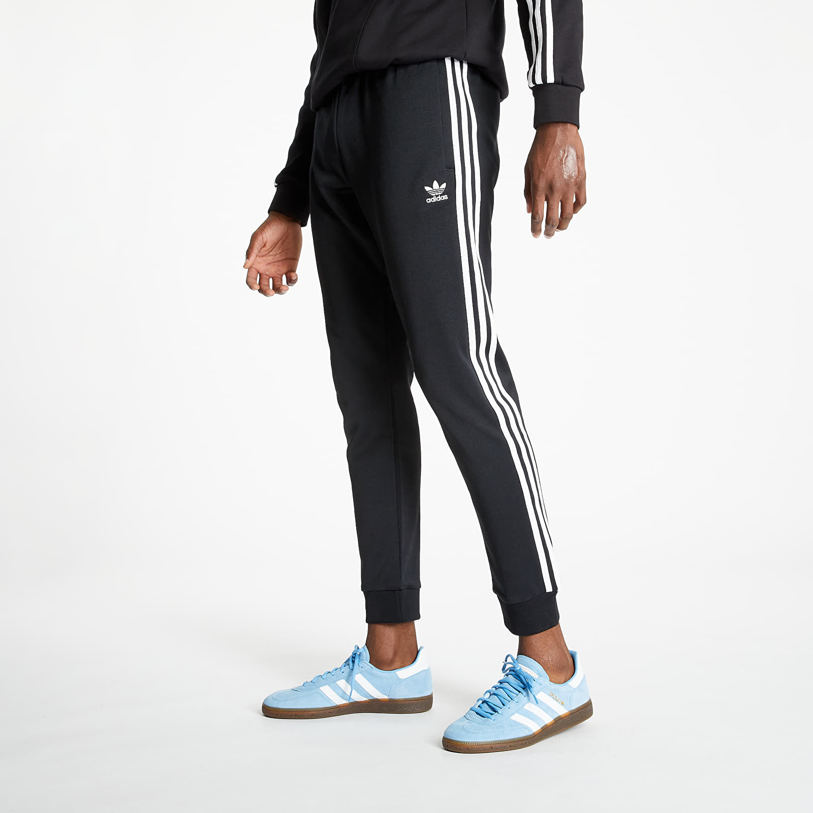 enseñar Comida Devastar  Pantalons adidas Superstar Trackpants Prime Blue Black/ White
