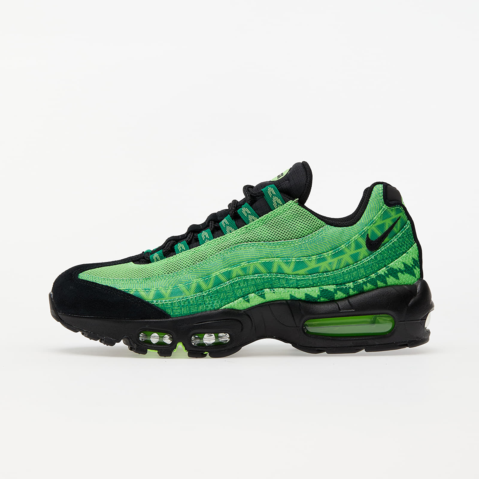 Nike Air Max 95 Ctry Pine Green/ Black-Sub Lime-White EUR 41