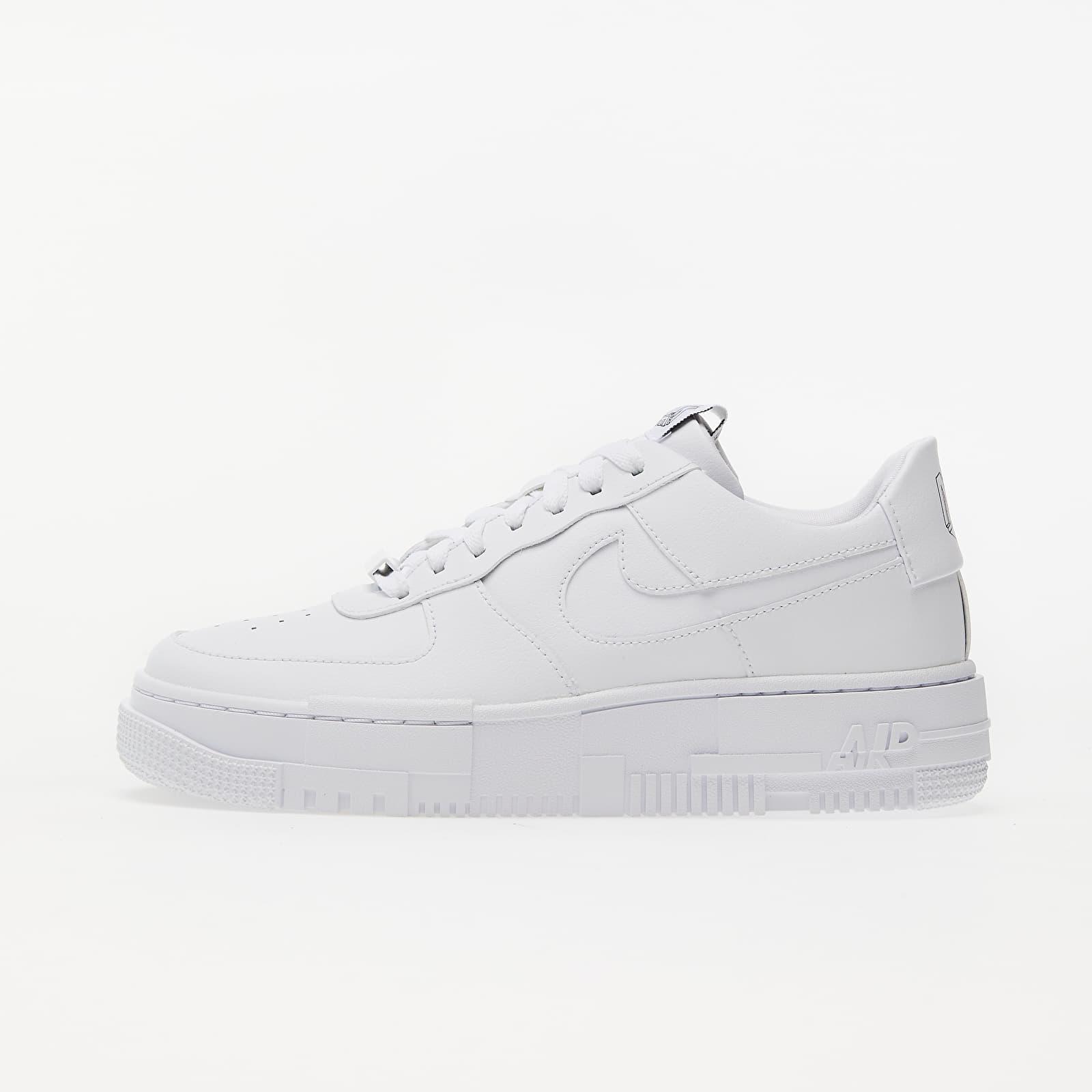 Încălțăminte și sneakerși pentru femei Nike W Air Force 1 Pixel White/ White-Black-Sail