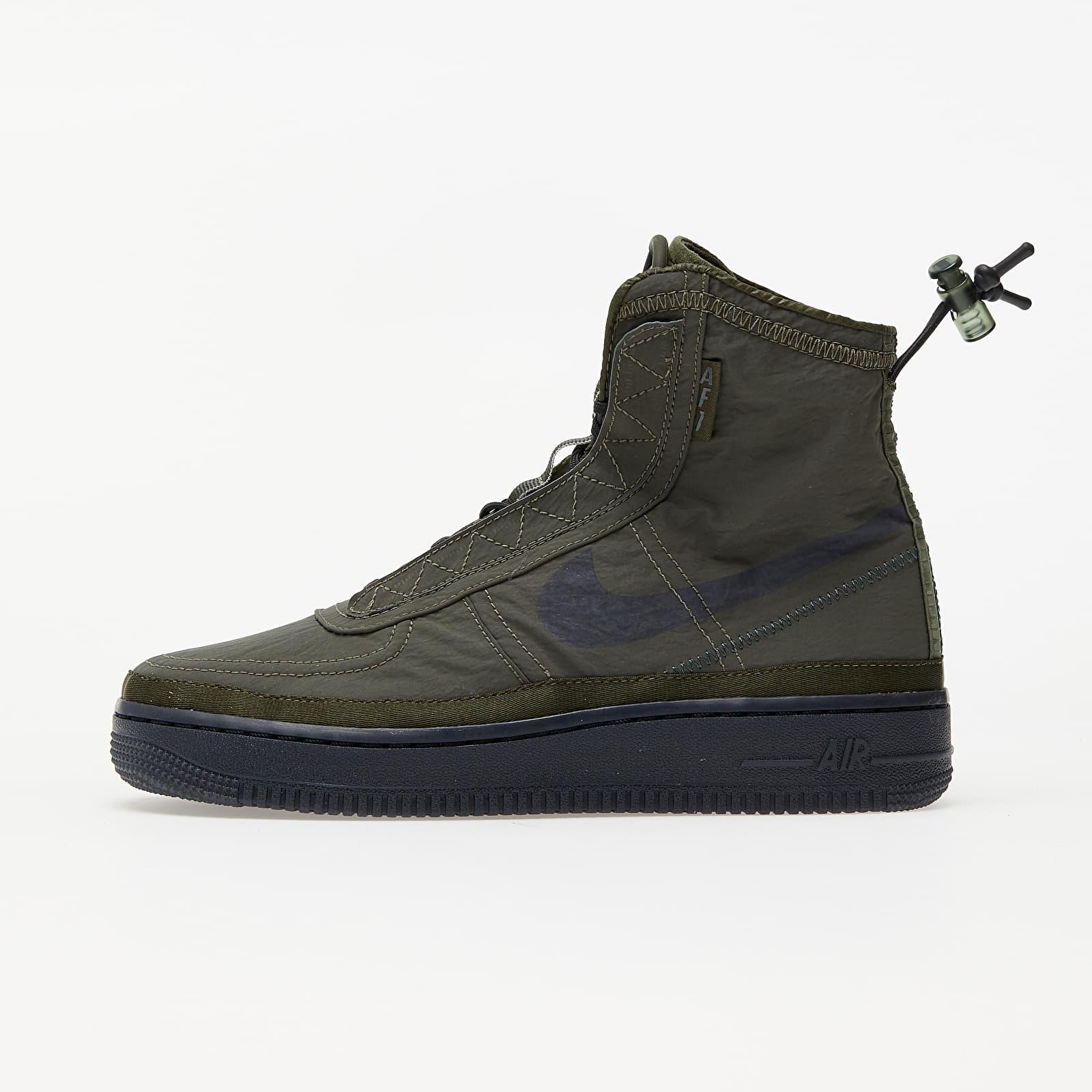 Women's shoes Nike W Air Force 1 Shell Cargo Khaki/ Off Noir-Seaweed