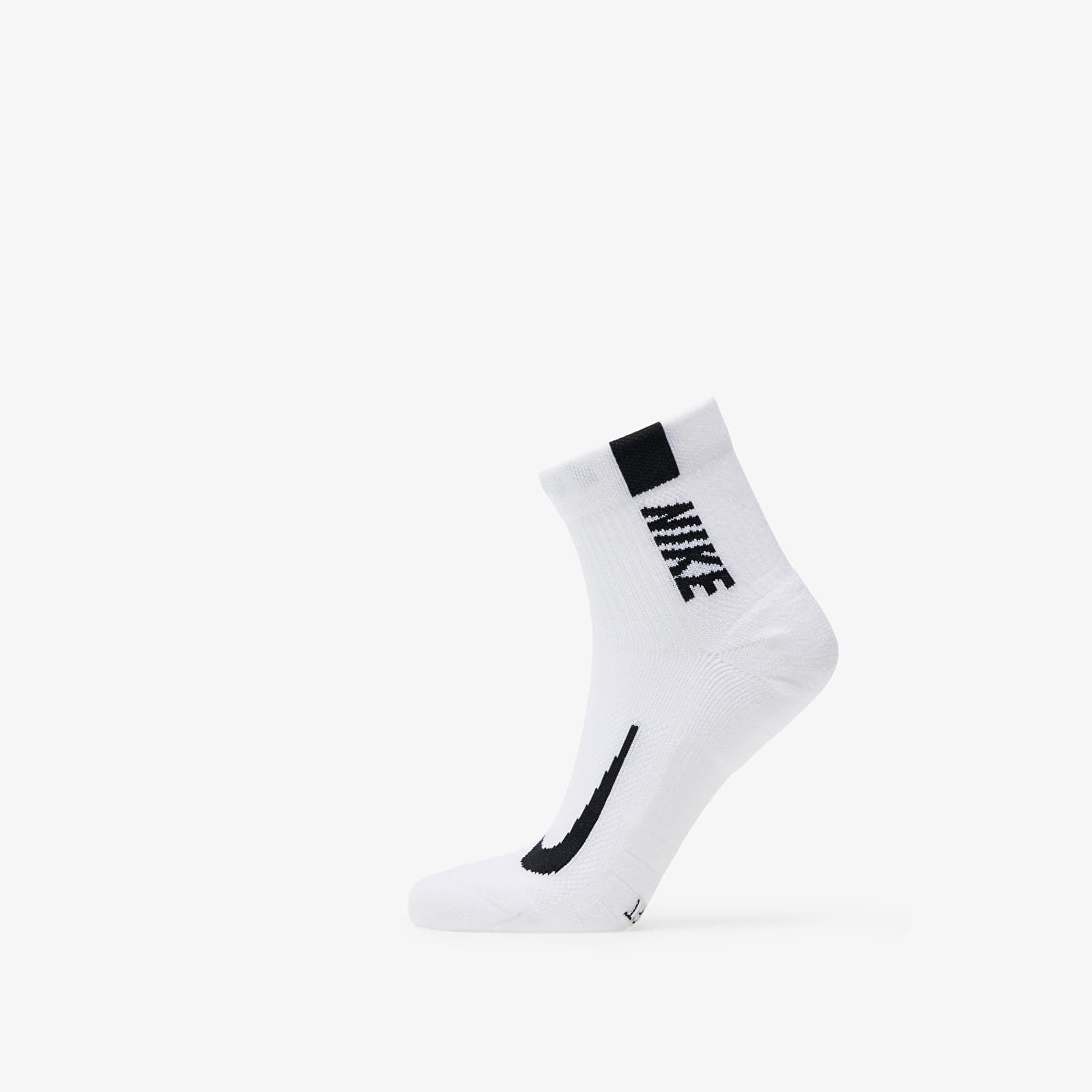 Nike Multiplier One Quarter Sock White/ Black EUR 34-38