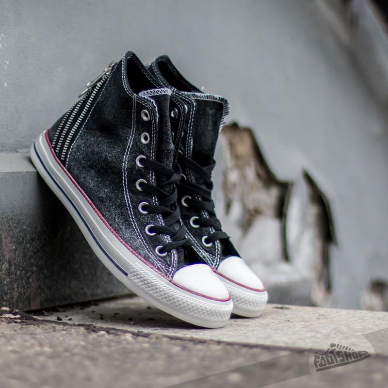 Converse CT Tri Zip Hi Black | Footshop