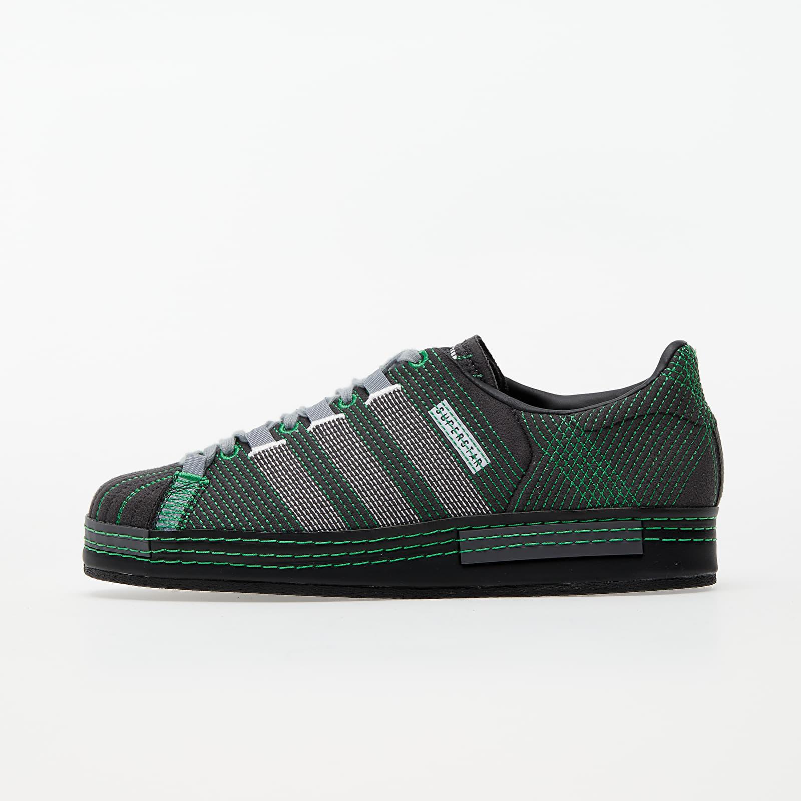Pánské tenisky a boty adidas x Craig Green Superstar Utility Black/ Core Black/ Green