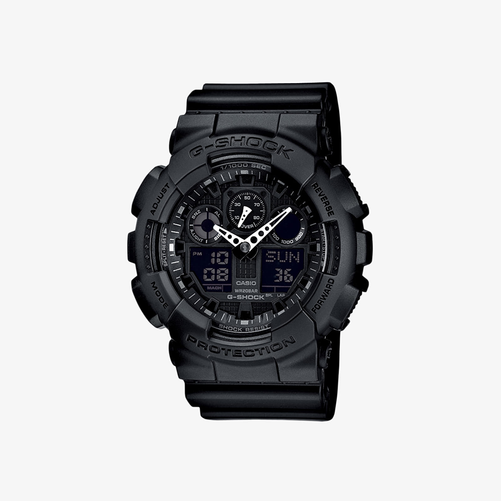 Horloges G-Shock GA-100-1A1ER Black