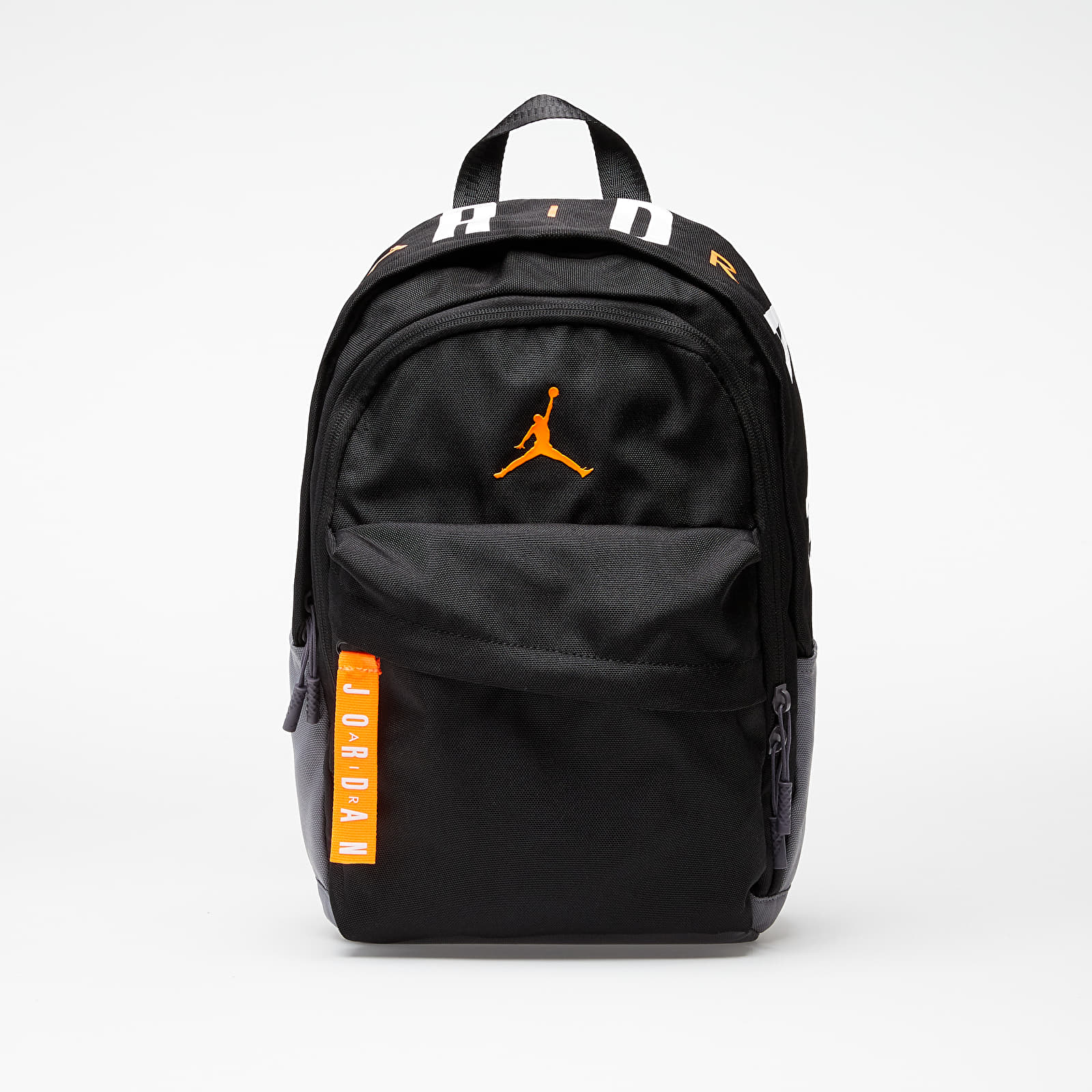 Batohy Jordan Air Patrol Backpack Black/ Total Orange