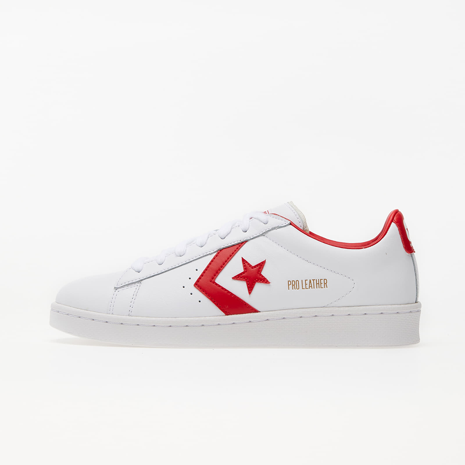 Men's shoes Converse Pro Leather Gold Standard White/ University Red