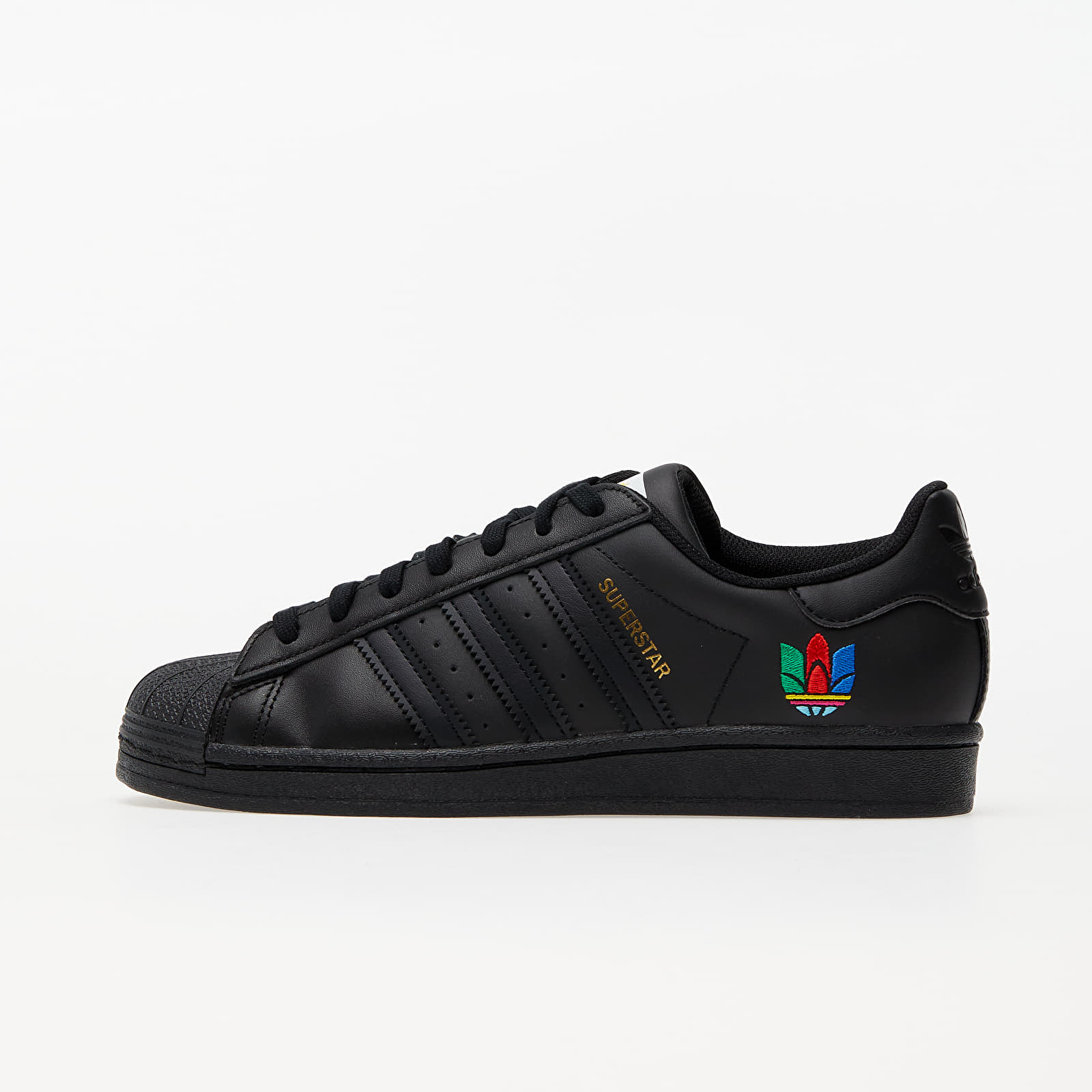 Women's shoes adidas Superstar W Core Black/ Core Black/ Real Magenta