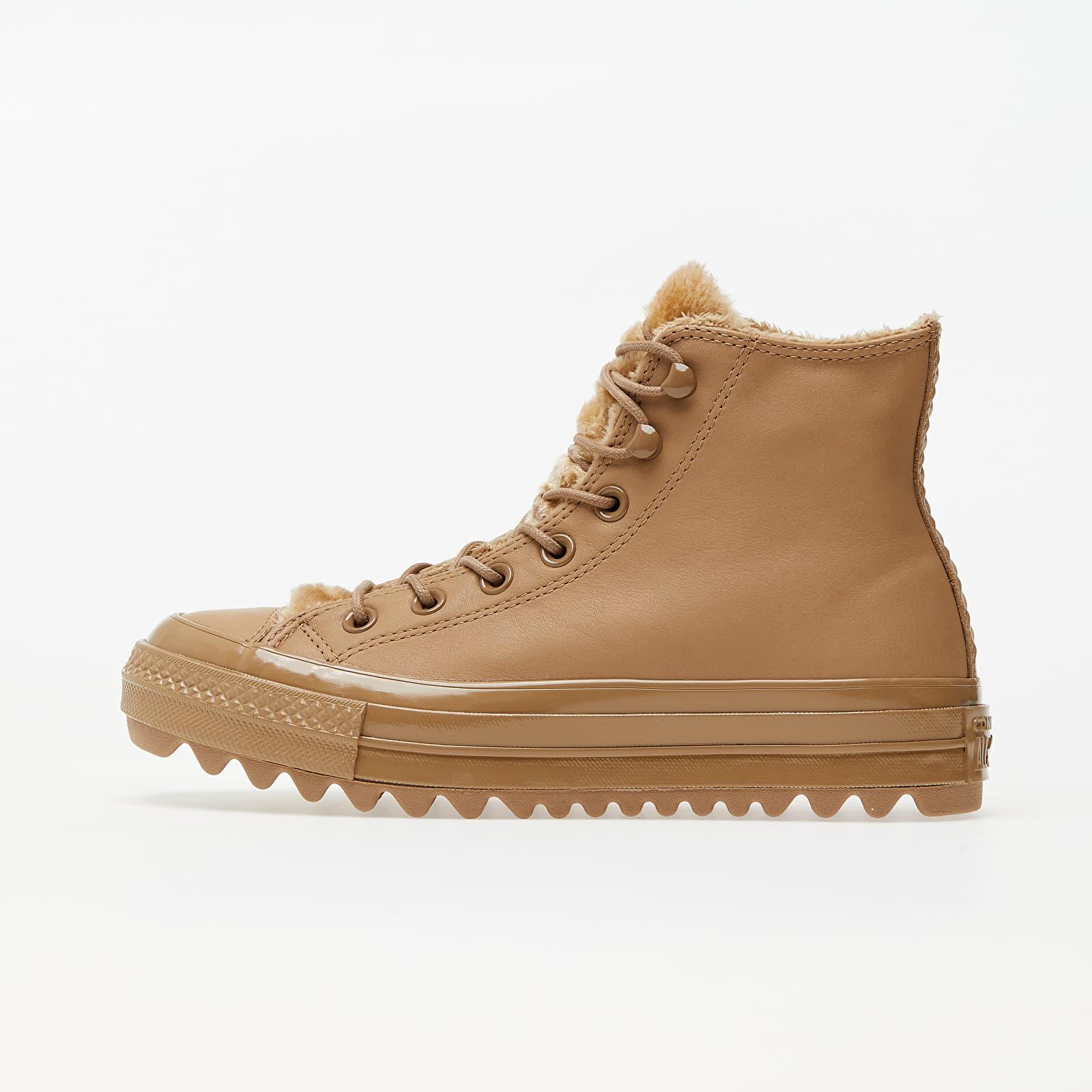 Women's shoes Converse Chuck Taylor All Star Lift Ripple Hi Tan/ Graphite