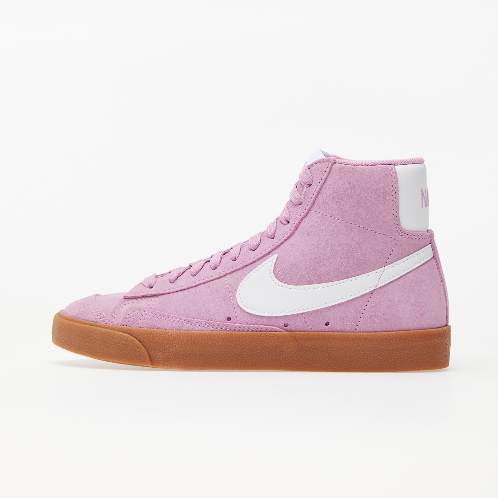 Nike W Blazer Mid '77 Suede Beyond Pink/ White-Gum Med Brown EUR 38.5