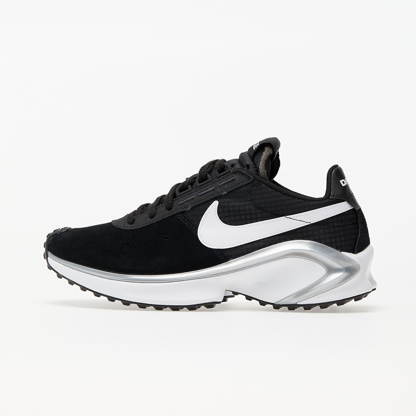 Nike D/MS/X Waffle Black/ White-Metallic Silver-White EUR 44.5