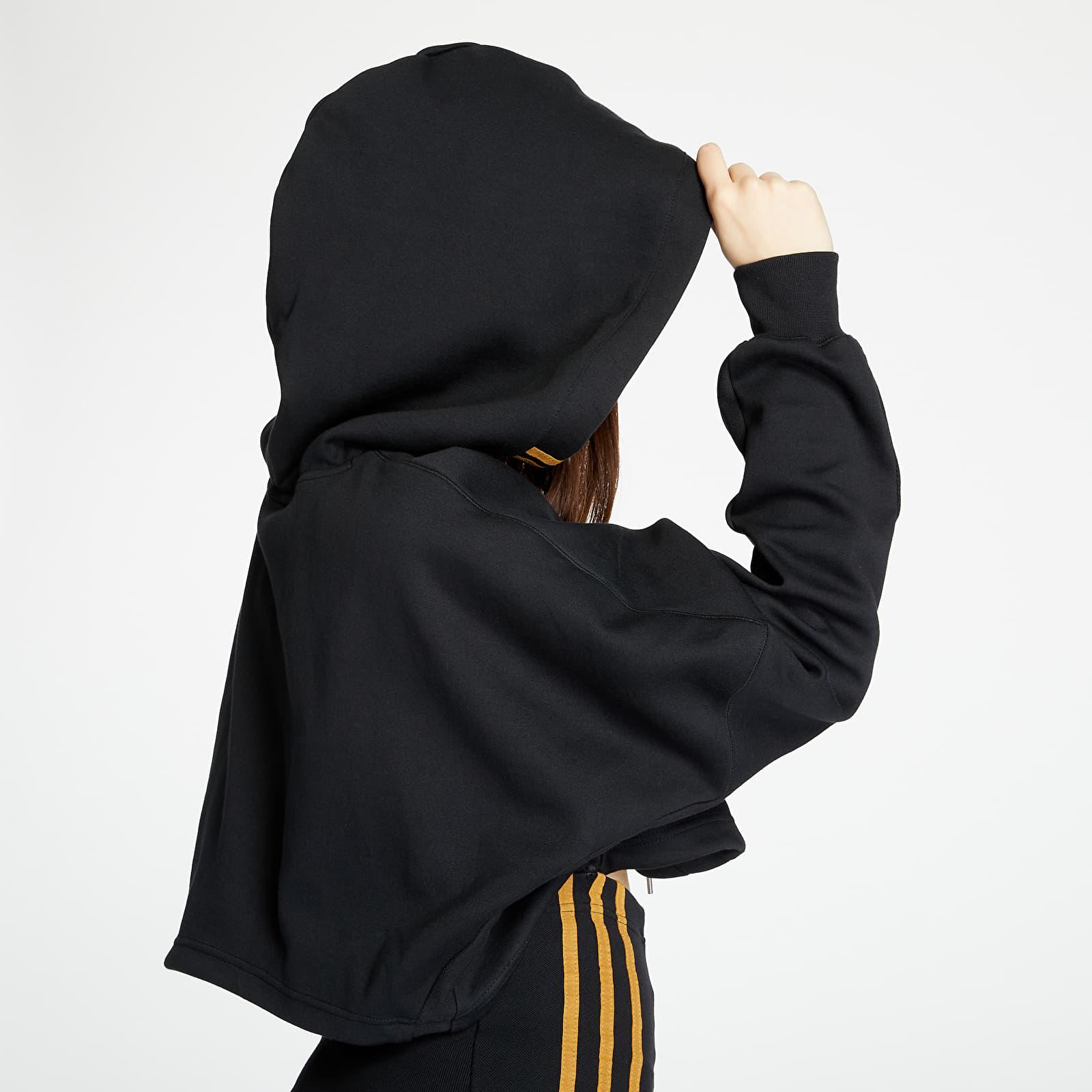 Dress adidas x Ivy Park Hooded Cropped Dress Black