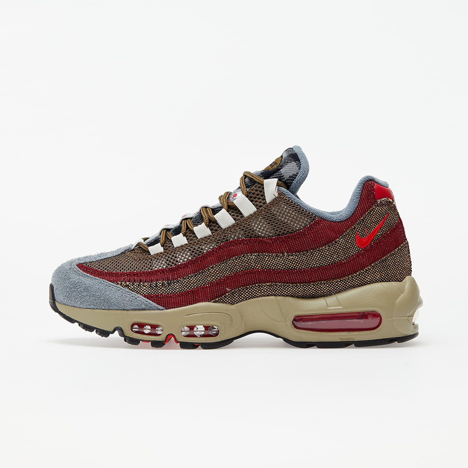 Nike Air Max 95 Velvet Brown/ University Red-Team Red EUR 41