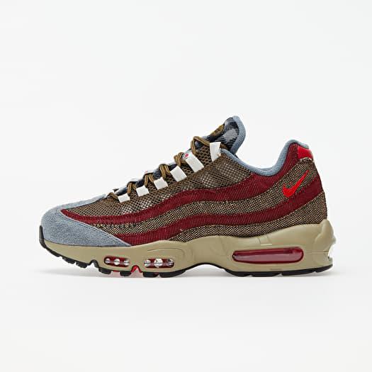 concierto adolescentes católico  Men's shoes Nike Air Max 95 Velvet Brown/ University Red-Team Red