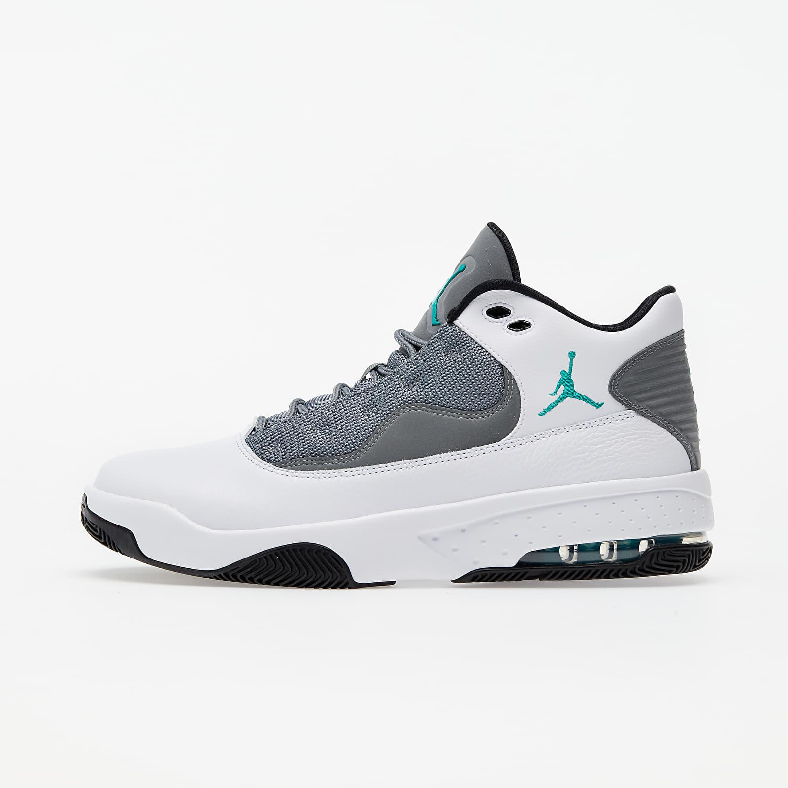 Jordan Max Aura 2 White/ Black-Neptune Green-Smoke Grey | Footshop