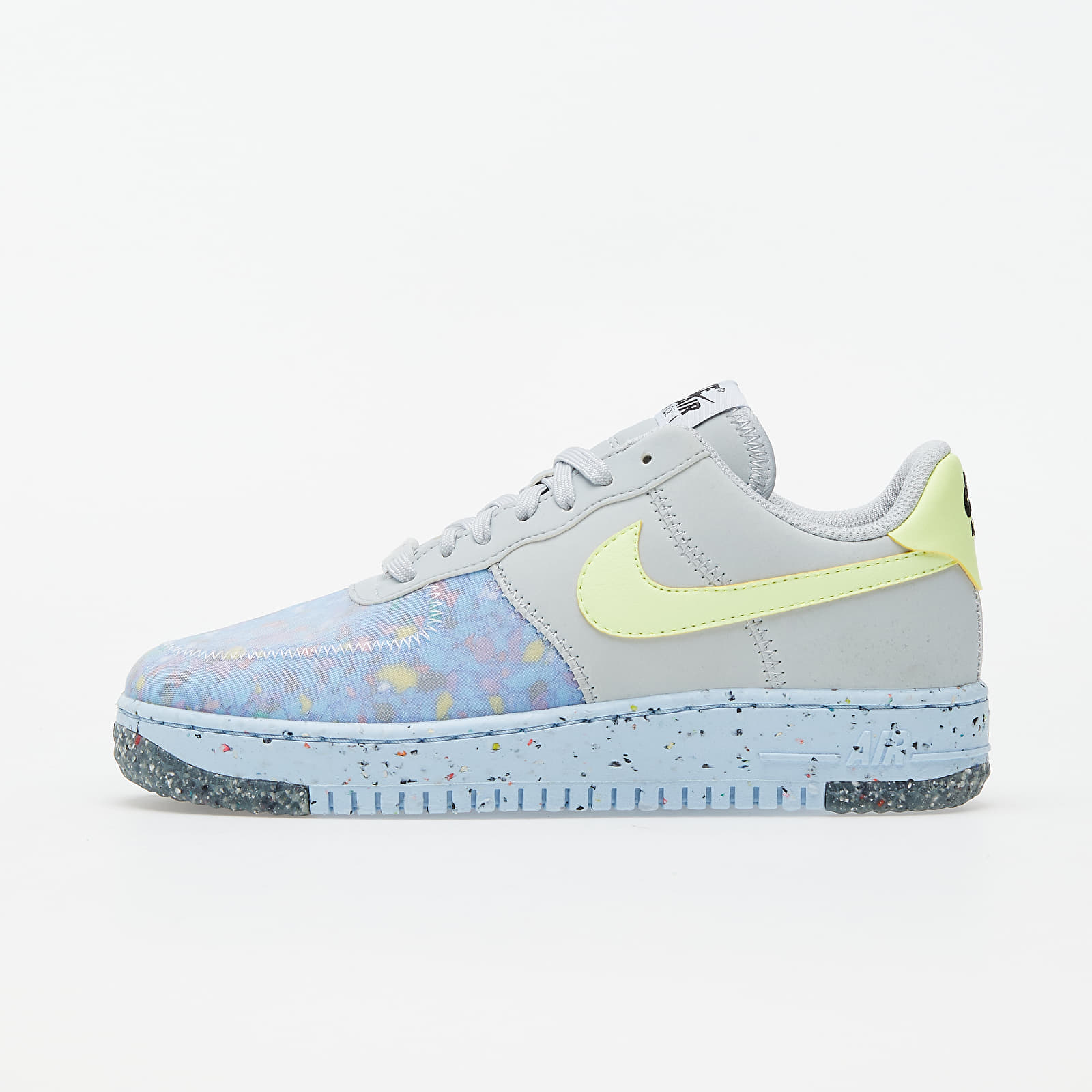 Ženske tenisice Nike W Air Force 1 Crater Pure Platinum/ Barely Volt-Summit White