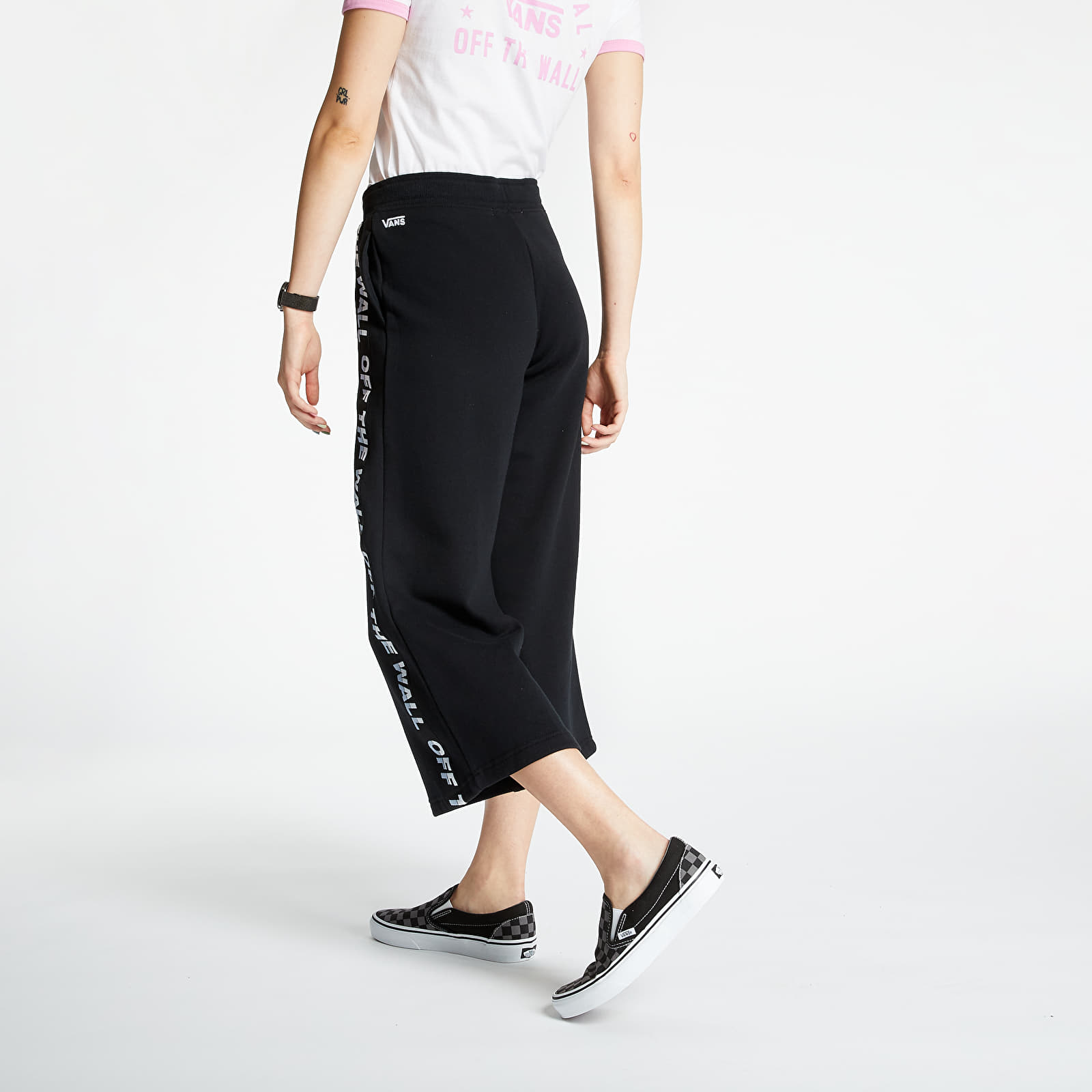 Jogger Pants Vans Chromo Bladez Sweatpants Black