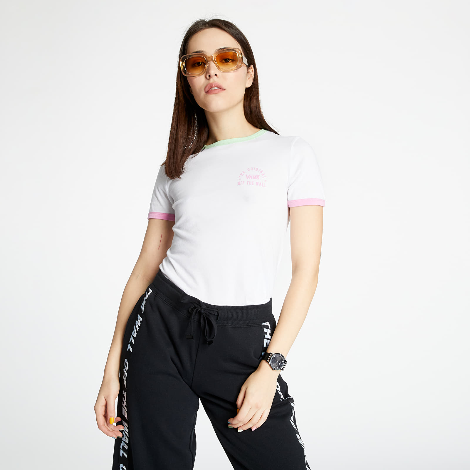 Vans Off The Wall Rally Bell Tee White XS