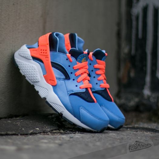 new styles hot products cheapest Nike Huarache Run (GS) Chalk Blue/ Bright Mango-Obsidian ...