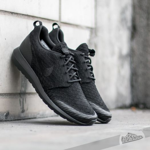 factory price hot products lowest price Nike Roshe NM Flyknit SE Black/ Black | Footshop