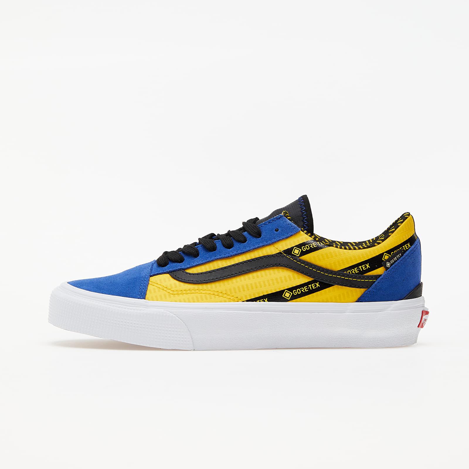 Pánske tenisky a topánky Vans Old Skool Gore-Tex (Gore-Tex) Blue/ Yellow